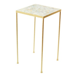 Mother of Pearl Toby Side Table