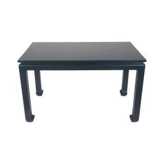 Navy Ming-Style Textured Desk