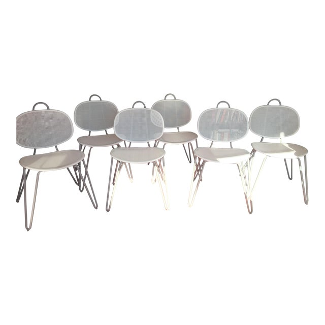 Image of Paola Navone Italian Dining Chairs - Set of 6