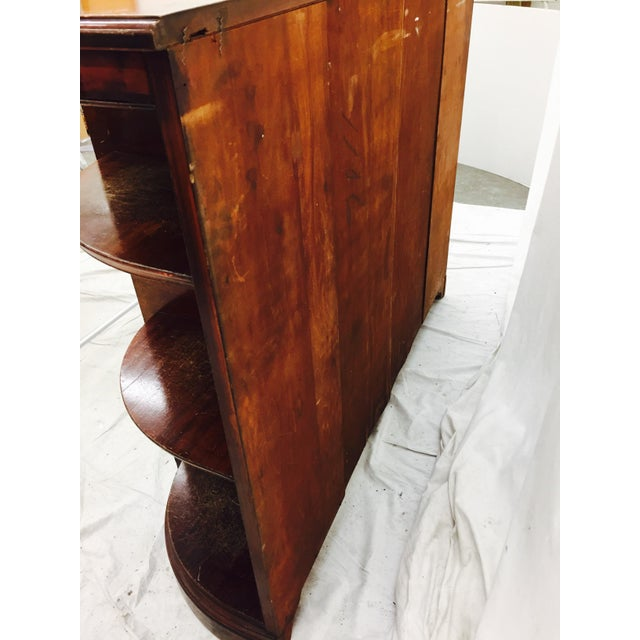 Vintage Mahogany Mirrored Console Chest - Image 10 of 11