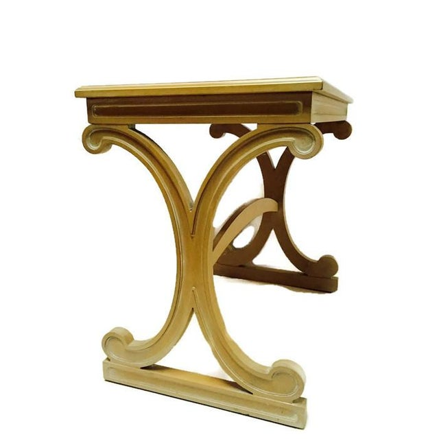 Mid-Century Regency Glam X Side Table - Image 1 of 5