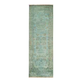"""Vibrance Hand Knotted Runner Rug - 2' 7"""" X 8' 0"""""""