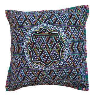 18x18 Upcycled Guatemalan Huipil Pillowcase