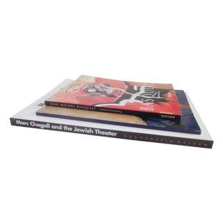 Basquiat, Chagall & Fritz Scholder Art Books - S/3