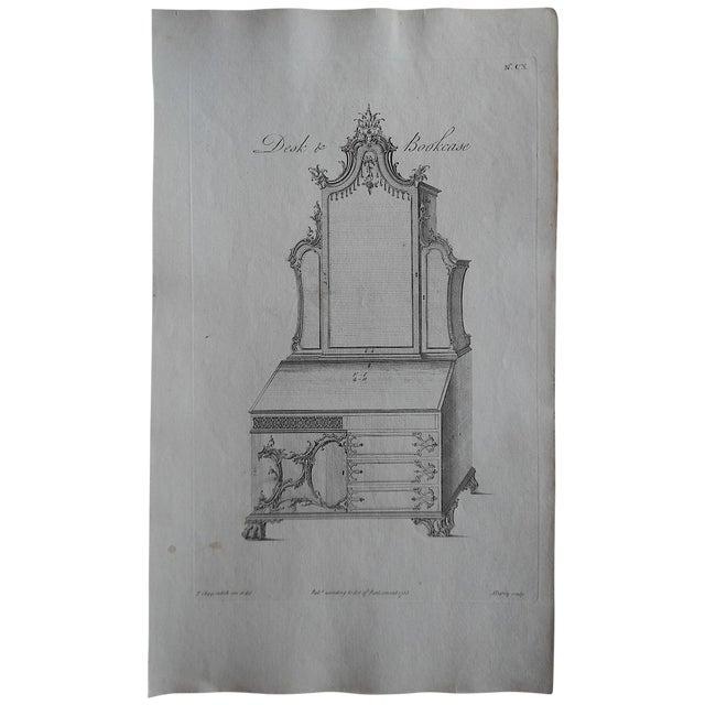 Antique Folio Chippendale Furniture Print - Image 1 of 3