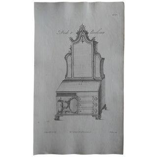 Antique Folio Chippendale Furniture Print
