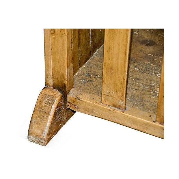 Antique Irish Pine Cupboard - Image 2 of 6