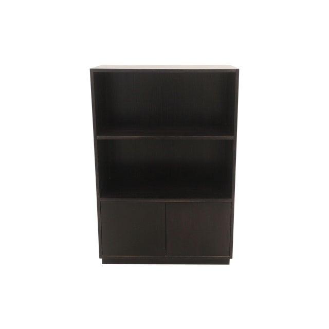 Image of Mid-Century Modern Black Bookcase