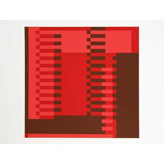 "Josef Albers ""Portfolio 1, Folder 22, Image 1"" Print"