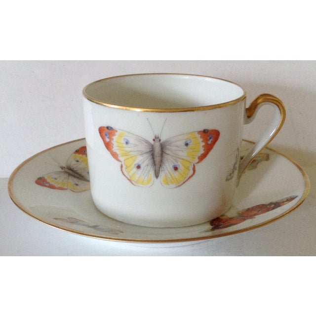 Limoges Cup and Saucer - Image 2 of 5