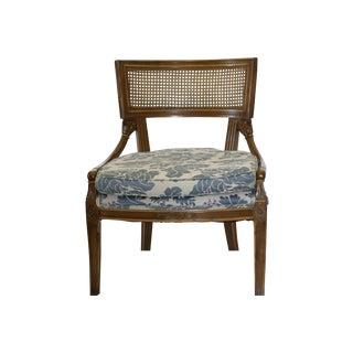 French Provincial Vintage Cane Back Side Chair