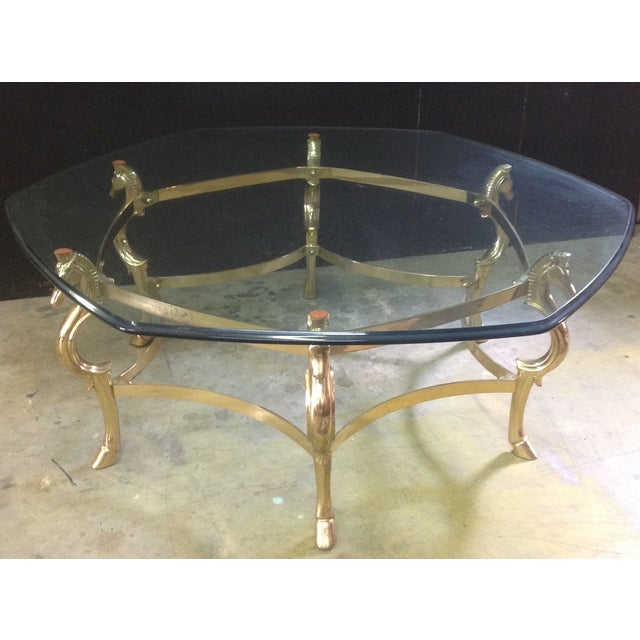 Image of LaBarge Horse Head Cocktail Table
