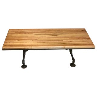 Handcrafted Butcher Board Coffee Table