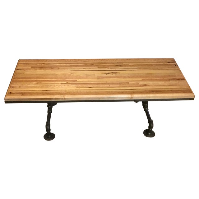 Handcrafted Butcher Board Coffee Table Chairish