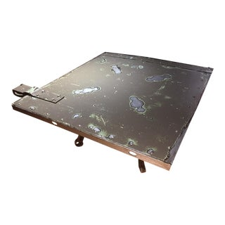 Antique Fire Door Coffee Table