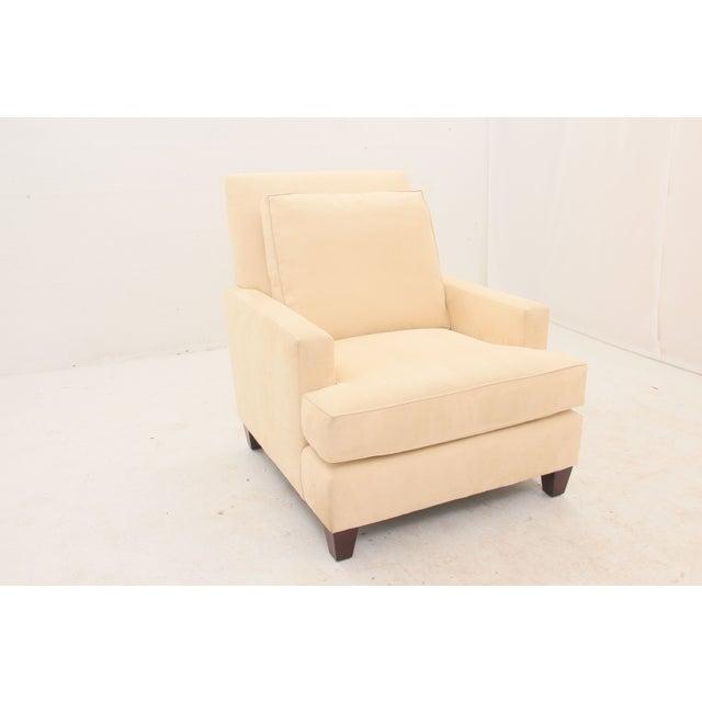 Image of Mid-Century Modern Cream Armchair
