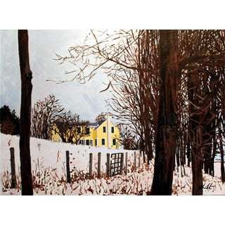 "Josh Moulton ""Winter's Color"" Giclee Print After a Painting"