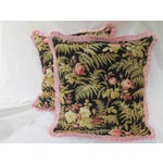 Image of 19th C. French Fabric Pillows - A Pair