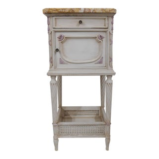 Antique French Style Painted Side Table