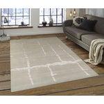 "Image of Pasargad Modern Silk & Wool Rug - 8'0"" X 9'11"""