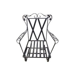 """Vintage Outdoor Woodard """"Bouncy"""" Chair"""