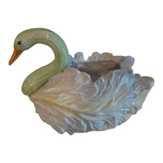 Swan Soup Tureen Centerpiece