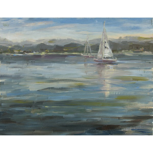 Sailing Lessons Painting - Image 1 of 2