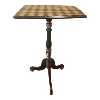 Harlequin Tilt Top Side Table