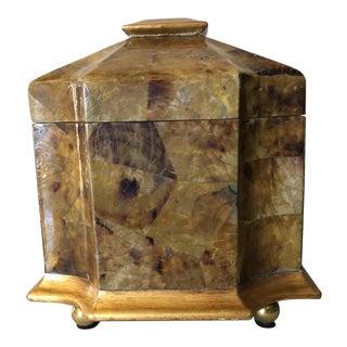 Maitland-Smith Tessellated Pen Shell Box