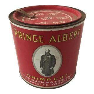 Circa 1940's Prince Albert Tobacco Tin