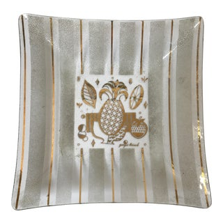 Georges Briard Pineapple Serving Platter