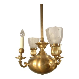 Converted Gas/Electric Fixture (4-Light)