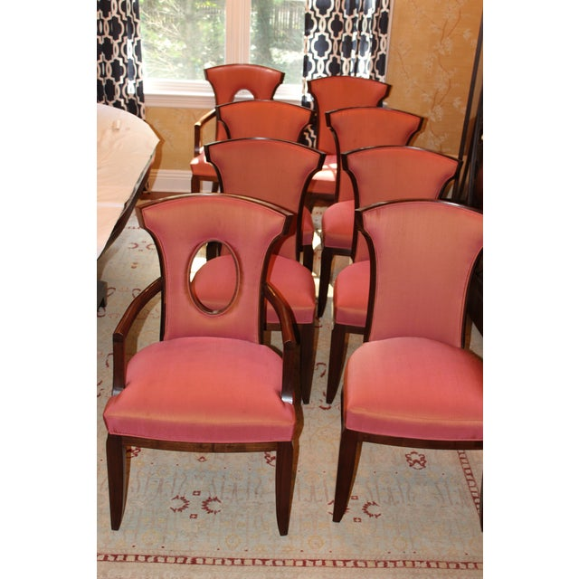 Barbara Barry Realized by Henredon Chairs - Set of 8 - Image 9 of 9