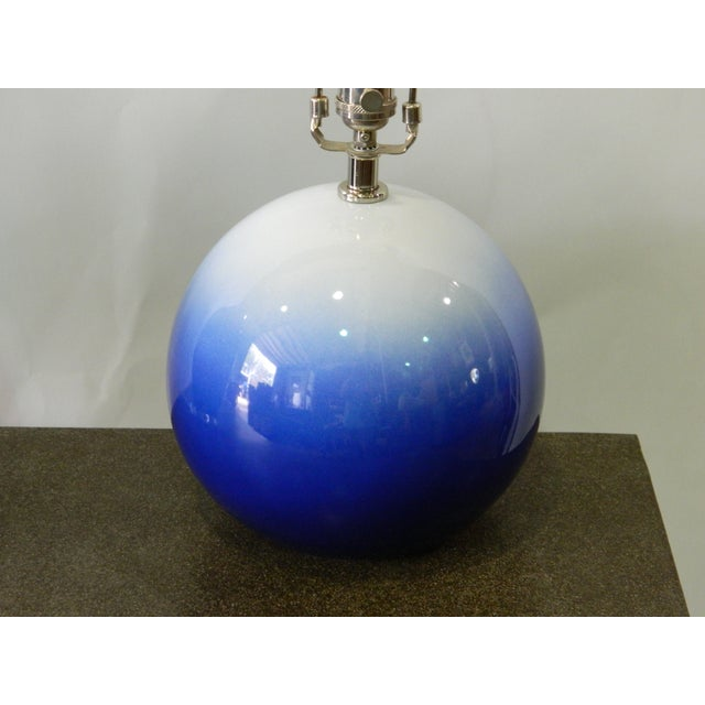 Blue & White Catalina Table Lamp - Image 5 of 5