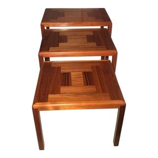 Vejla Stole Og Mobelfabrik Teak Nesting Tables - Set of 3