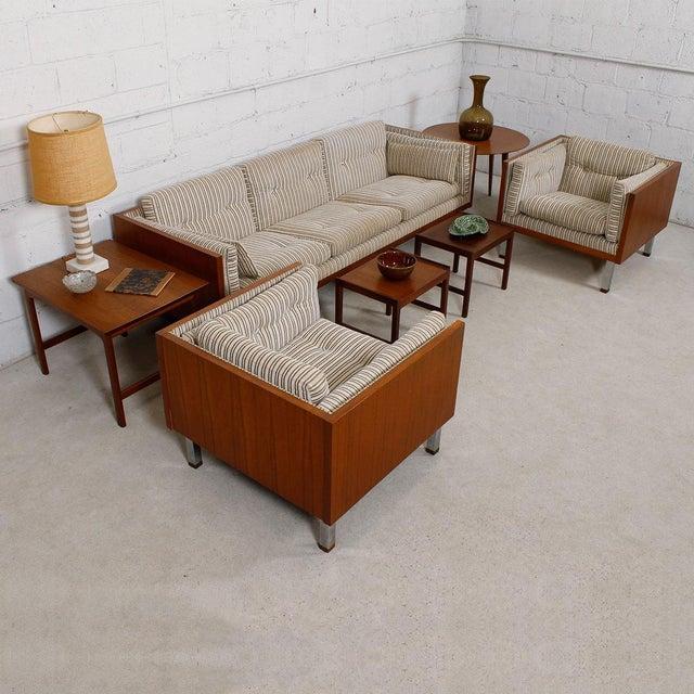 Image of Jydsk of Denmark Interform Collection Teak Case Sofa