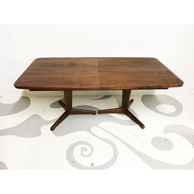 Mid-Century Modern Dining Table by Brown Saltman - Image 4 of 7