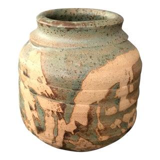 Small Boho Chic Pottery Vase