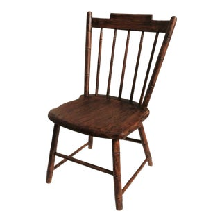 Early 19th Century N.E. Painted Child's Windsor Chair