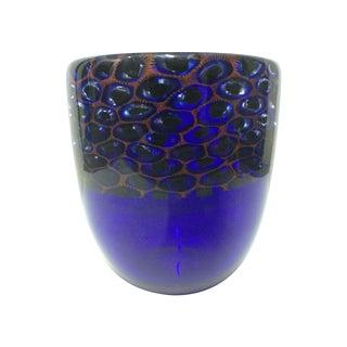 Paolo Seguso Cobalt Art Vase