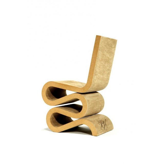 "Signed Frank Gehry ""Wiggle"" Chair - Image 6 of 6"
