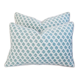 Italian Fortuny Persiano Pillows - A Pair