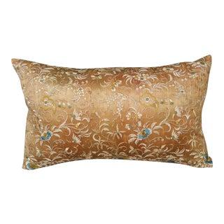 19th Century Silk Pillow