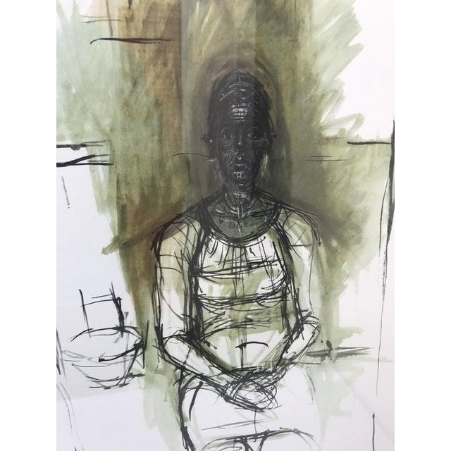 """""""Caroline"""" Lithograph by Alberto Giacometti - Image 3 of 7"""