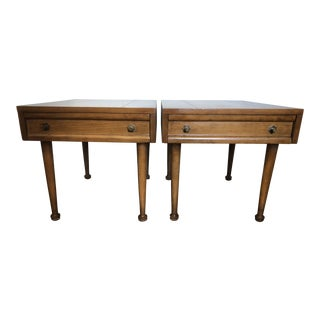 American of Martinsville Mid Century End Tables- a Pair