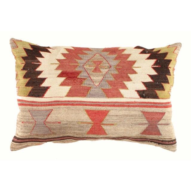 "Vintage Kilim Pillow - 2'8"" X 1'10"" - Image 2 of 3"