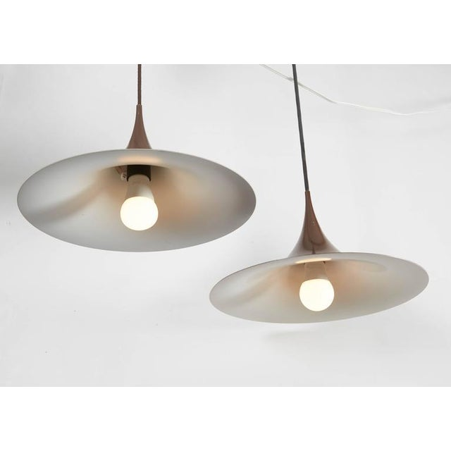 Semi Pendant Lamps by Claus Bonderup & Thorsten Thorup, Pair - Image 2 of 5
