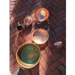Image of Antique Copper Kitchen Pieces - Set of 6