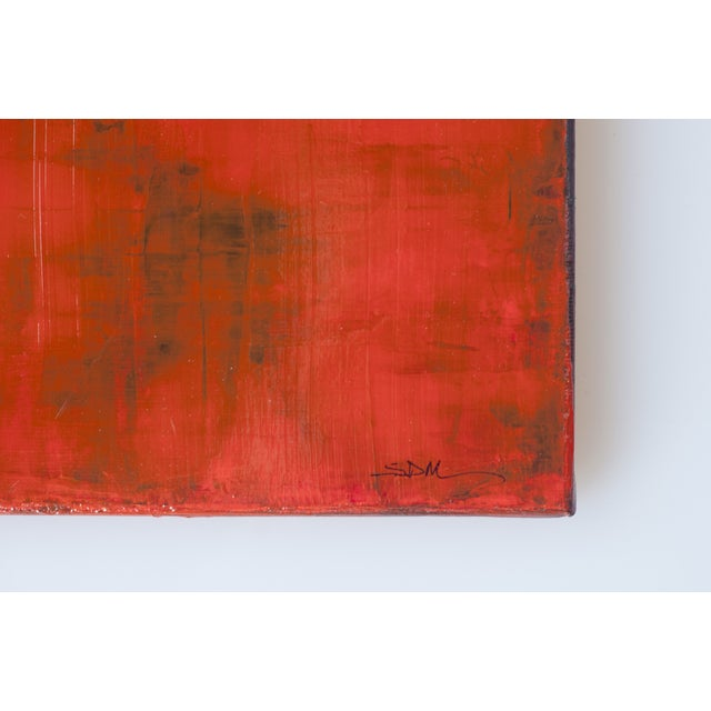 Susan Martell 'Red Sky at Night' Painting - Image 2 of 2
