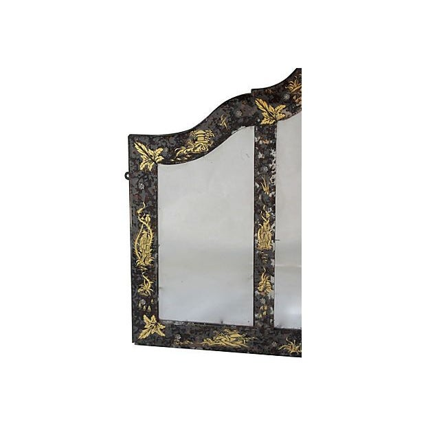 Image of Chinoiserie Eglomise Mirror